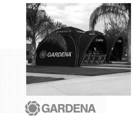 Tridome opblaasbare tenten Gardena